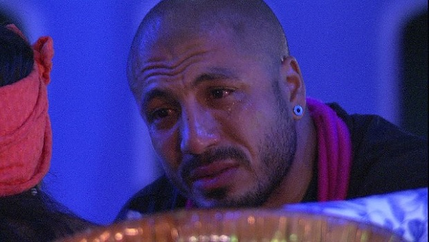 Fernando chora no BBB15