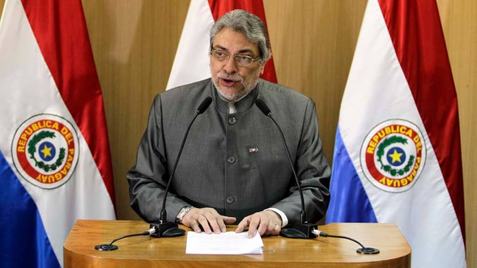 Fernando Lugo, presidente do Paraguai
