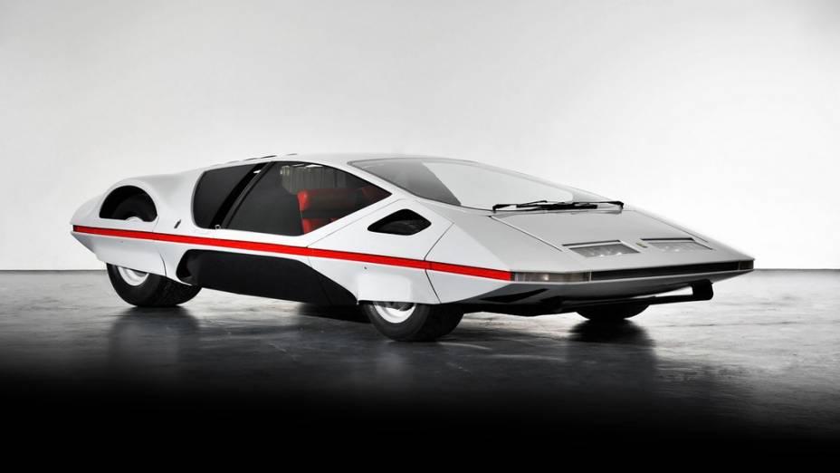 De estilo futurista, o protótipo 512 S Modulo foi mostrado pela primeira vez no Salão de Genebra de 1970. Extremamente baixo, o Modulo vinha com um capô deslizante para acesso dos ocupantes e um potente V12 central 5.0 de 550 cv