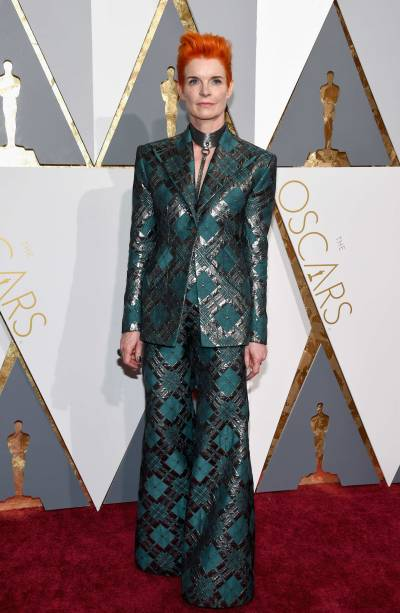 Figurinista Sandy Powell no Oscar 2016