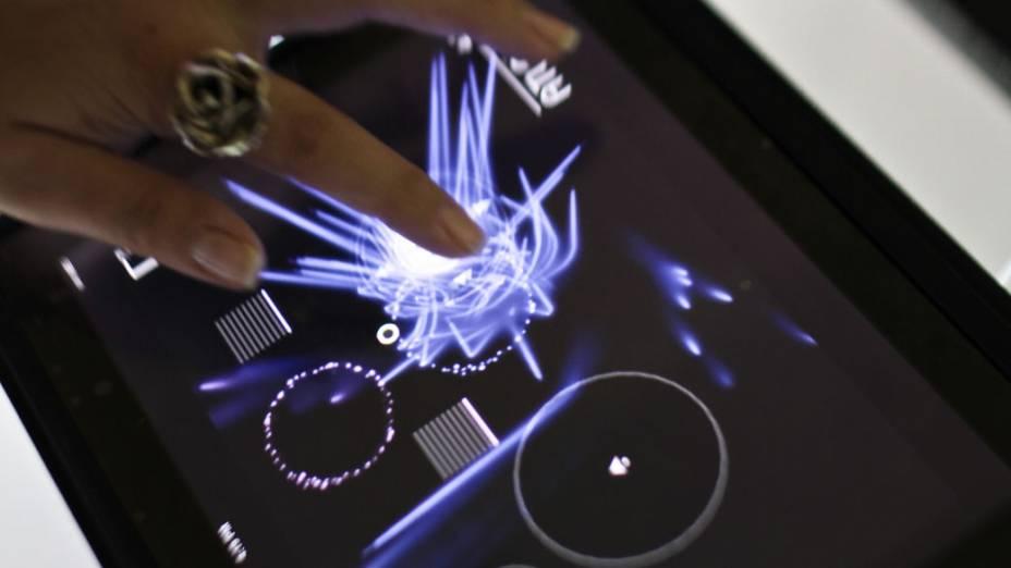 Exposição traz games para iPad, o tablet da Apple