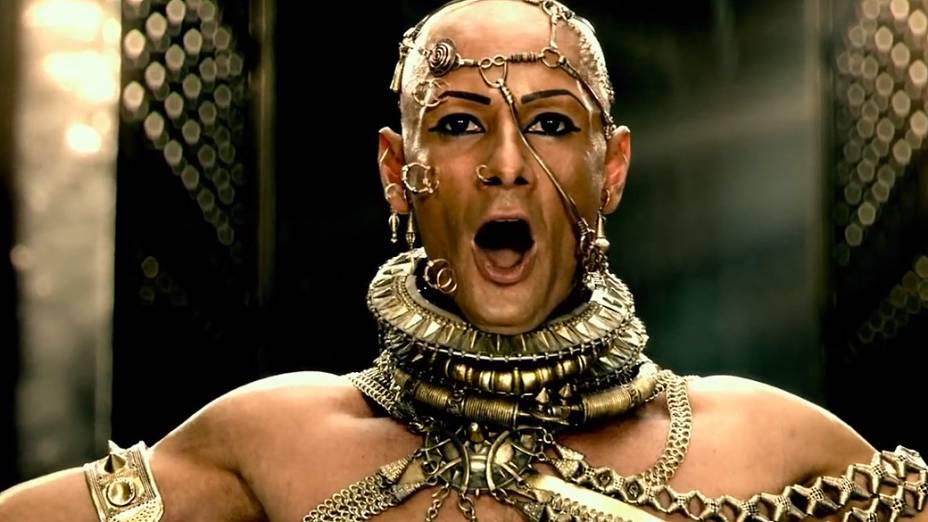 Rodrigo Santoro no filme 300 - A Ascensão do Império
