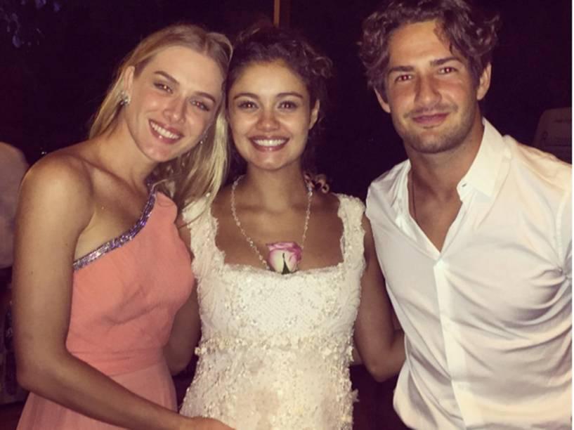 Fiorella Mattheis, Sophie Charlotte e Pato