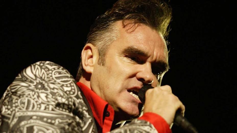 Morrissey em show de 2004