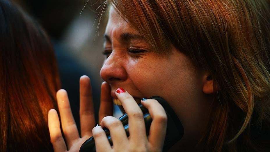 Público durante o show da banda escoceses Franz Ferdinand no segundo dia do festival Lollapalooza em São Paulo