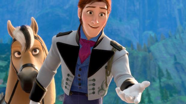 Hans, personagem da animação Frozen: Uma Aventura Congelante