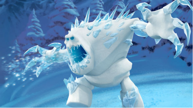 Marshmallow, personagem da animação Frozen: Uma Aventura Congelante