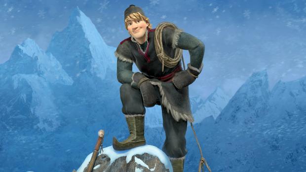 Kristoff, personagem da animação Frozen: Uma Aventura Congelante