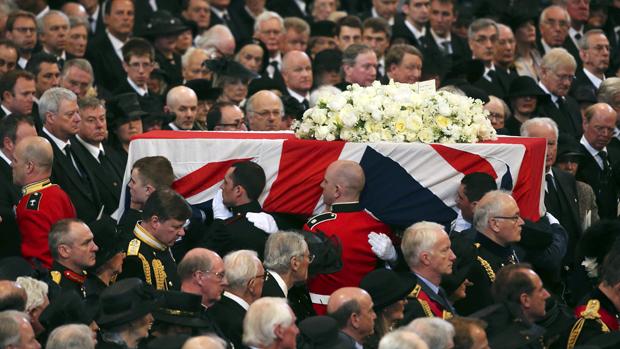 Funeral da ex-primeira-ministra britânica Margaret Thatcher, em Londres
