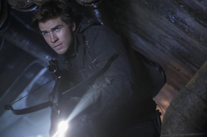 Gale (Liam Hemsworth) em Jogos Vorazes: A Esperança - O Final