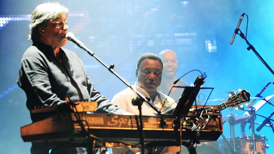 Apresentação do George Benson e Ivan Lins no Rock in Rio 2013