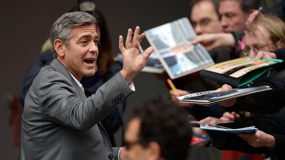 George Clooney durante o 64º Berlinale International Film Festival em Berlim