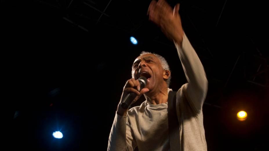 Gilberto Gil encerra a Virada Cultural de São Paulo 2012