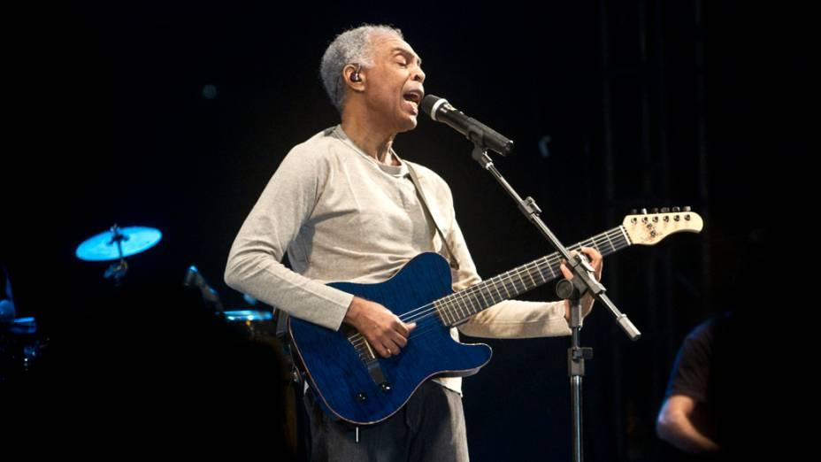 Show de Gilberto Gil na Virada Cultural 2012