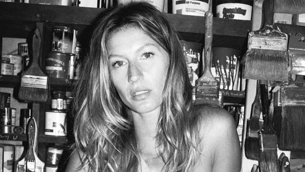 Gisele Bündchen em campanha da grife de Sonia Rykiel