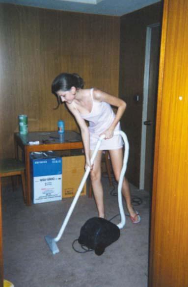 Em 1999, Gisele no início de carreira em Nova York