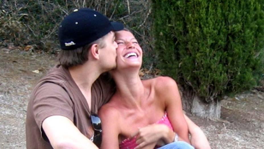 Gisele namorou o astro Leonardo DiCaprio entre 2001 e 2005