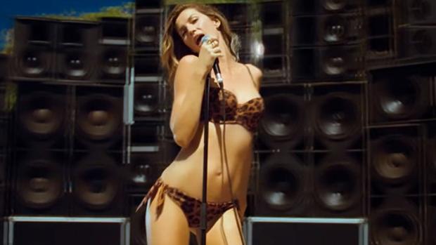 Gisele Bündchen na campanha de verão da marca H&M