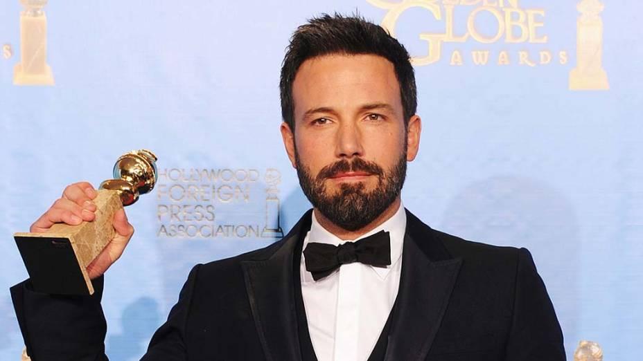 Ben Affleck, melhor diretor por <em>Argo</em>