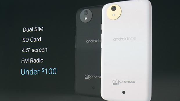 Google anuncia Android One, projeto que inclui parcerias com fabricantes para baratear smartphones com Android