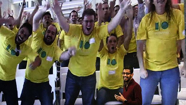 Desenvolvedores brasileiros foram mostrados ao vivo durante abertura do Google I/O, conferência para desenvolvedores