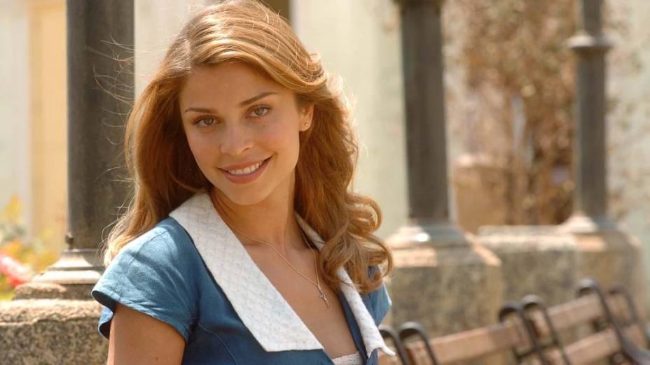 Grazi Massafera, como a personagem Florinda, na novela Desejo Proibido, da rede Globo