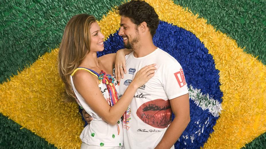 Grazi Massafera e Cauã Reymond, no Camarote Contigo! Daniela Mercury, do circuito Barra-Ondina, no Carnaval de Salvador