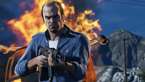 Trevor, um dos três personagens de Grand Theft Auto V