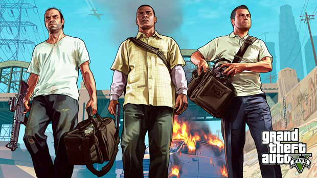 Personagens principais de GTA 5