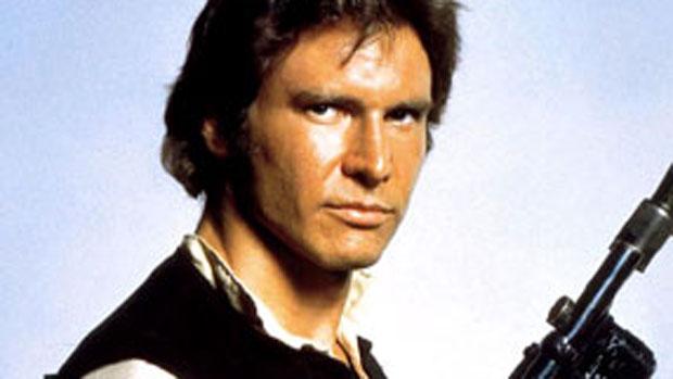 Harrison Ford em <em>Guerra nas Estrelas</em> (1977)