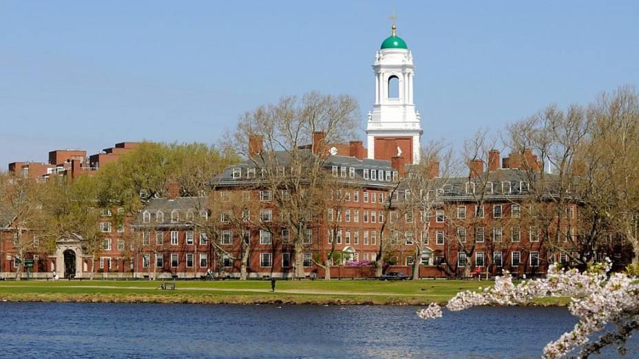 Universidade Harvard, nos Estados Unidos - 4º lugar no ranking do THE