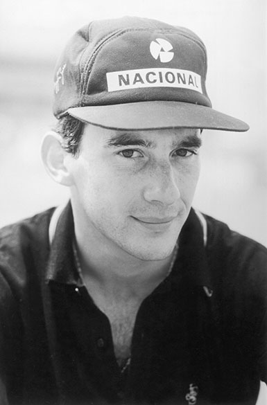Ayrton Senna em 1985