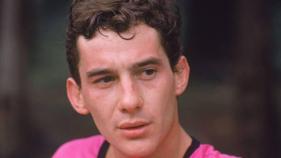 Ayrton Senna em 1986