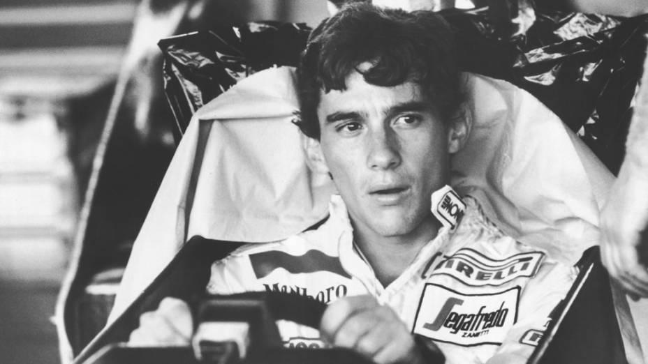 Ayrton Senna estreou na Fórmula 1 em 1984, pela equipe Toleman