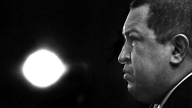 O mandatário venezuelano, Hugo Chávez