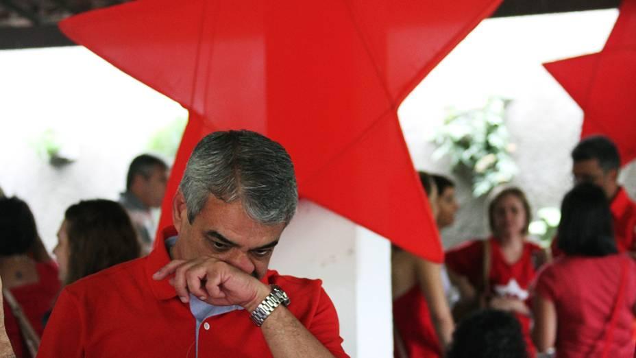 Candidato à prefeitura do Recife pelo PT, Humberto Costa
