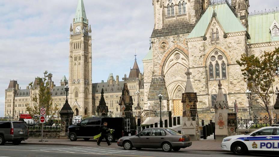 Movimentação após ataque ao Parlamento canadense
