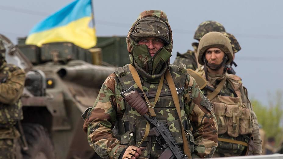 As Forças Armadas da Ucrânia começaram na madrugada desta sexta-feira (2) uma operação militar em Slaviansk, no sudeste do país, para retomar o controle da cidade