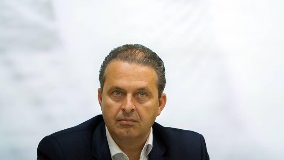 Eduardo Campos, em 2014
