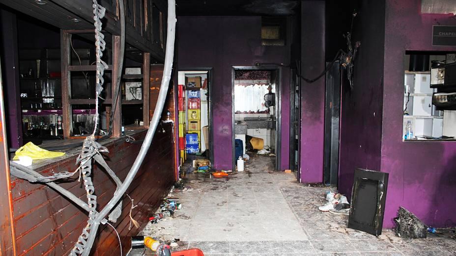 Novas fotos do interior da boate Kiss após incêndio em Santa Maria (RS)