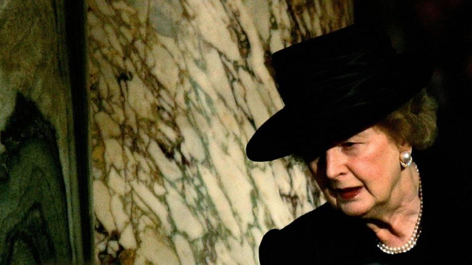 Margaret Thatcher em Londres (2005)