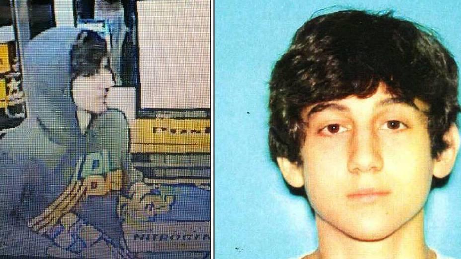 Dzhokhar A. Tsarnaev, de 19 anos, seria o suspeito número 2, que é perseguido em Boston
