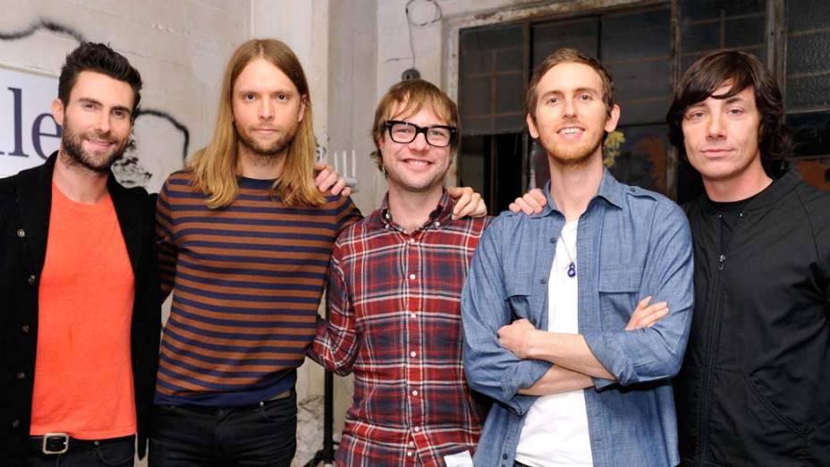A banda Maroon 5