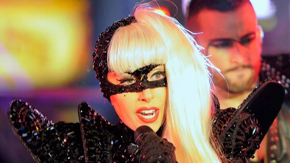 A cantora Lady Gaga, indicada ao Grammy 2012