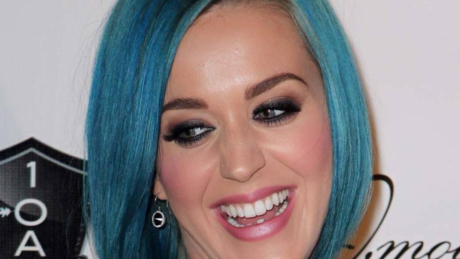 A cantora Katy Perry, indicada ao Grammy 2012