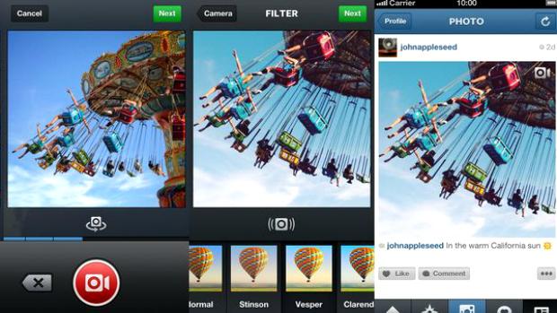 Instagram ganha recurso de vídeos