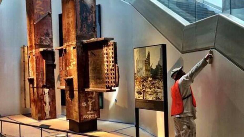 Últimos ajustes antes da inauguração do Museu do 11 de setembro