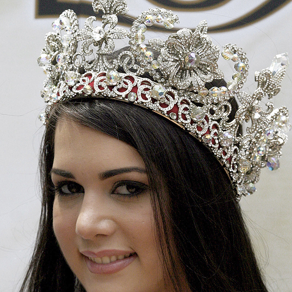 Mónica Spear foi eleita Miss Venezuela em 2004