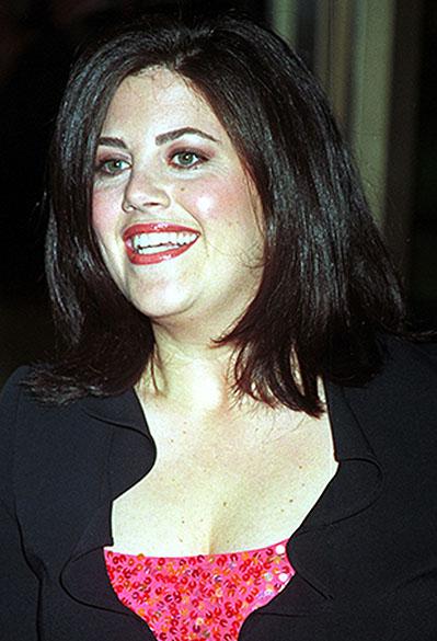 Monica Lewinsky participa de premiação em Nova York, no ano 2000