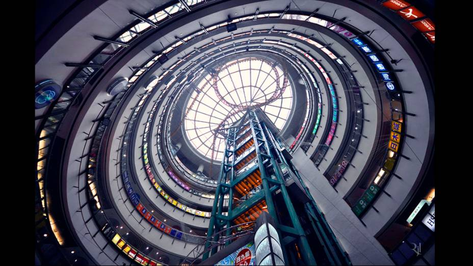 Foto integrante do livro Vertical Horizon publicado pela Asian One sobre os prédios de Hong Kong